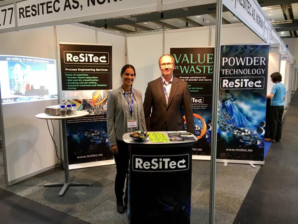ReSiTec at the World PM2016 Congress and Exhibition in Hamburg, Germany